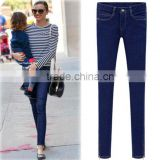 Best selling ladies blue washed winter lady thick skinny jeans, sex girls' photos in skinny jeans,tight jeans girls skinny jeans