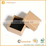 manufacturer of large brown kraft paper jewelry box with logo printed                                                                                                         Supplier's Choice