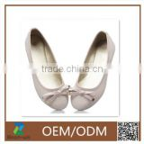 2015 new arrival design dance shoes ballet shoes with bow many color