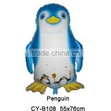 2016 different color Penguin shaped foil balloon helium aluminium balloon