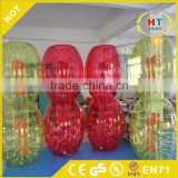 Factory direct sales inflatable human hamster ball,cheap bumper ball Human Bubble bumper Ball