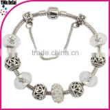 2015 Latest design bracelets for graceful girls simple style christmas bracelet