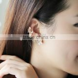 Wholesale Fashion Style Opal & Alloy Flower Ear Cuff Ear Clip                                                                         Quality Choice