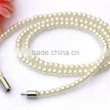 Lady Girl's Exquisite Faux Pearl Glass Beads Bracelet Bride Wedding Jewelry