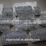 factory directly sale wholesale price satellite design crystal sofa button with sharp corner