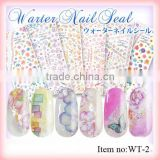 DIY Product fashionable nail art sticker for girls/Eco-friendly non-toxic Custom nail art stickers