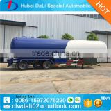 Liquid gas transportation vehicle 55CBM lpg tanker trailer                                                                                                         Supplier's Choice
