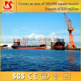Single jib portal crane handling container mobile harbour crane