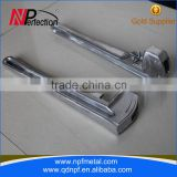 Aluminum adjustable angled offset pipe wrench parts