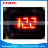 MINI 12V /24V RED DIGITAL LED CAR AUTO vehicle VOLTMETER VOLTAGE Volt Meter