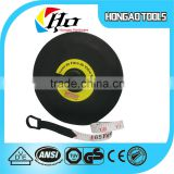 50M 165FEET round black ABS case fiber measure tape Brand Measuring Tape                                                                         Quality Choice