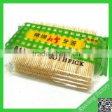 Best-selling knotted bamboo toothpicks,bamboo skewers and toothpicks