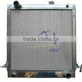RACING CAR Radiator use for ISUZU 100P