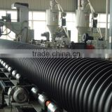 DONGHONG BRAND CIVIL PROJECT steel reinforcing spiral corrugated PE pipe for underground sewage