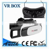2016 Hot Selling Virtual Reality Glasses Case Plastic Google Cardboard 3D VR BOX 2.0 Adjustable 3D VR