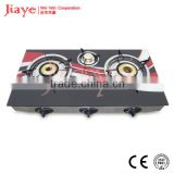 color printed table 3 burner stove top protector JY-TG3017
