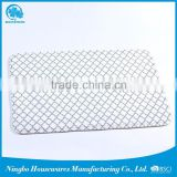 wholesale china trade green bathroom accessory set pvc bath mats