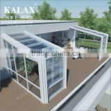 Intelligent Garden Green House/Glass Green House/ Conservatory/Sun Room/Gazebo