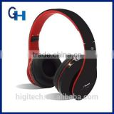 Over ear stylish bluetooth headphone with microphone TF card Support FM Radio for mobile phone bluetooth headphone
