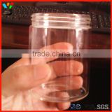 Tableware Storage Container Round Shape Transparent Good Quality High Borosilicate Thread Glass Jar