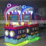 Jamma-F-16 electronic game machine for kids 20 LCD Big Fish Eat Small Fish game machine token game machine card reader