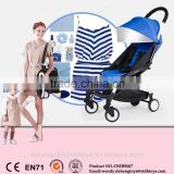 2016 Europe Market Fashion Design Easy Folding and Taking Light Baby Buggy Baby Stroller