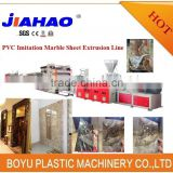 PVC WPC artificial marble decoration sheet board panel extrusion extruder extruding machine