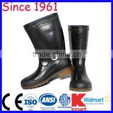 Long Rubber Boots PVC and Resion Knee Height Fashion Rain Rubber Boots