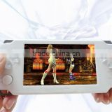 "4.3"" touch screen handheld game console X8 games player Arcade game consoles players Camera MP3 MP4 ebook portable games players"