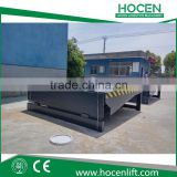 Warehouse Car Loading Bay Equipment 10T Capacity Electric Lift Table Hydraulic Stationary Hydraulic Dock Ramp