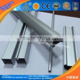 6061 6463 aluminium channel extrusion led / OEM aluminum led channel track / led strip aluminum extrusion profile