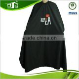 high quality waterproof polyester hairdressser barber salon cutting cape apron