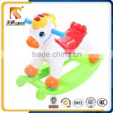 High quality baby ride on rocking horse can change into kids slide car