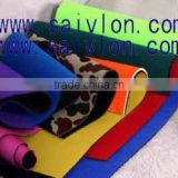 Wholesale solid color or camo print waterproof neoprene rubber fabric