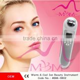 Multi-functional Ionic Beauty Instrument Handheld Cool&heat Salon Face Skin Inspection Lifting Home Beauty Equipment Vascular Removal Optical Glass