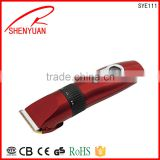 Professional steelless blade quietest Electric big power professional hair clipper trimmer tools wholesale OEM