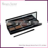5 Colors Eyeshadow & Brow Powder Palette,Eye Liner Eye shadow Pencil Blush Palette Cosmetics