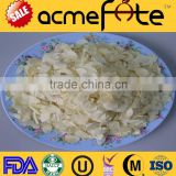 New crop chinese dehydrated garlic flake products with certificates HACCP, OU, KOSHER, EEC, NOP, HALAL, BRC,ISO