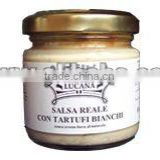 SALSA REALE with WHITE TRUFFLE and PARMIGIANO cheese no preservatives