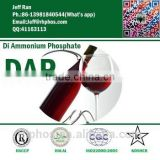[Original factory]furnace process diammonium hrdrogen phosphate -FCC9 DAP--for red wine fermentation