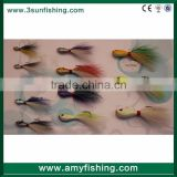 bucktail jigging lures