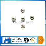 customized stainless steel / aluminum / brass welt coupling hex threaded insert nut and bolt factory