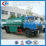 Competitive advantage customized dongfeng 15cbm fuel transport truck , fuel tanker trailer, fuel tank truck manufactures