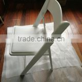 high quality used hotel wedding resin folding chairs