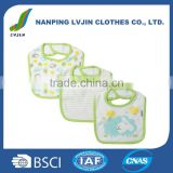 High Quality Baby Newborn 3 Pack Terry Dribbler Bib knit terry/Bandana Bibs