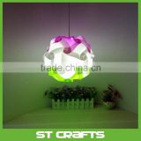 ST Wholesale Ceiling IQ Jigsaw Puzzle Lamp , High Quality Decoration PP iq puzzle light