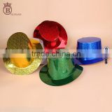 Newest Dancing Party Laser Paper Top Hats