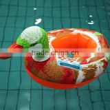 The new 2014 baby swim ring The duck pattern by PVC inflatable boat
