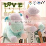 YK ISO9001 wholesale latest stuffed animal customize cotton pink handmade running PLUSH UNICORN for kids