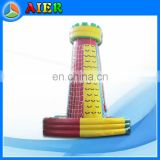 outdoor or indoor inflatable game type New giant inflatable climbing wall
